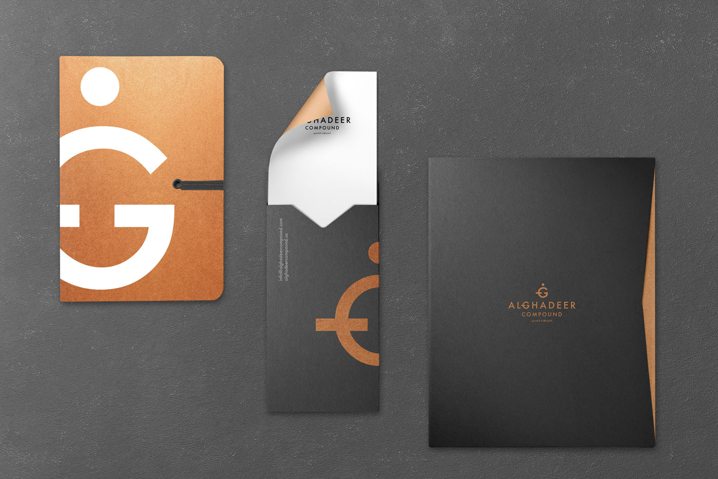 Alghadeer_Compound_Branding_e_Work_By_YaStudio